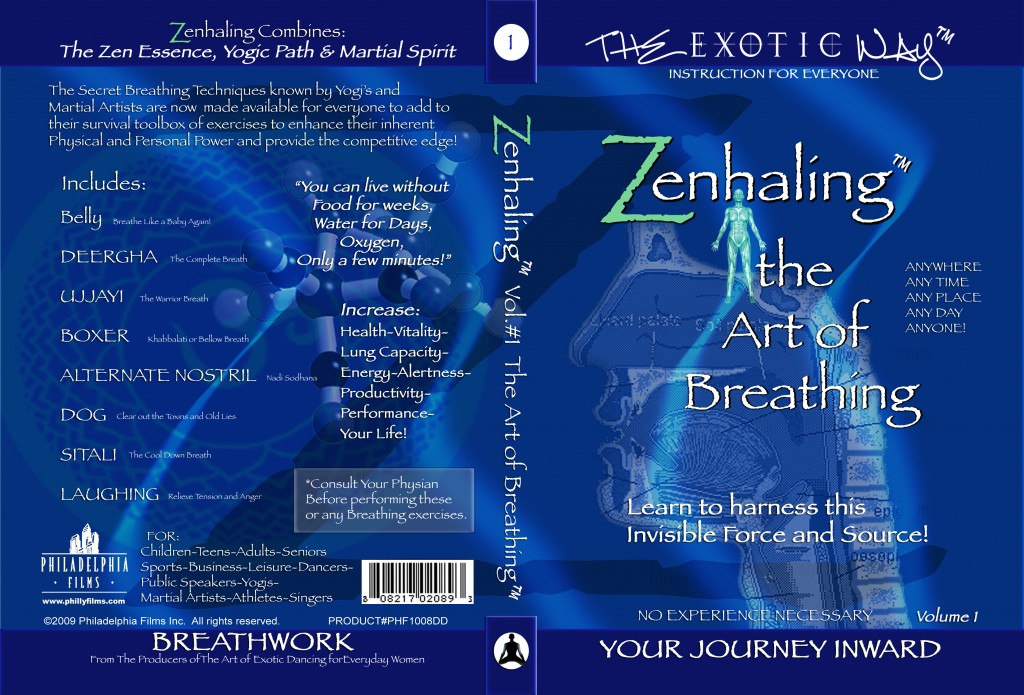 Zenhaling DVD #1 The Art of Breathing