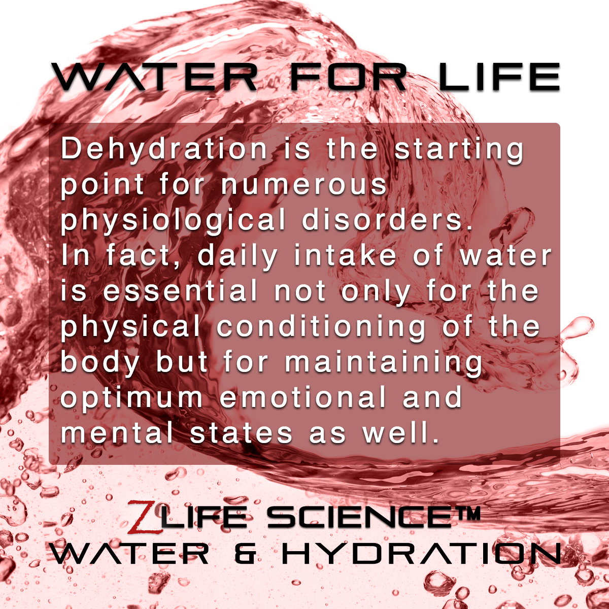 Waterfor Life card3
