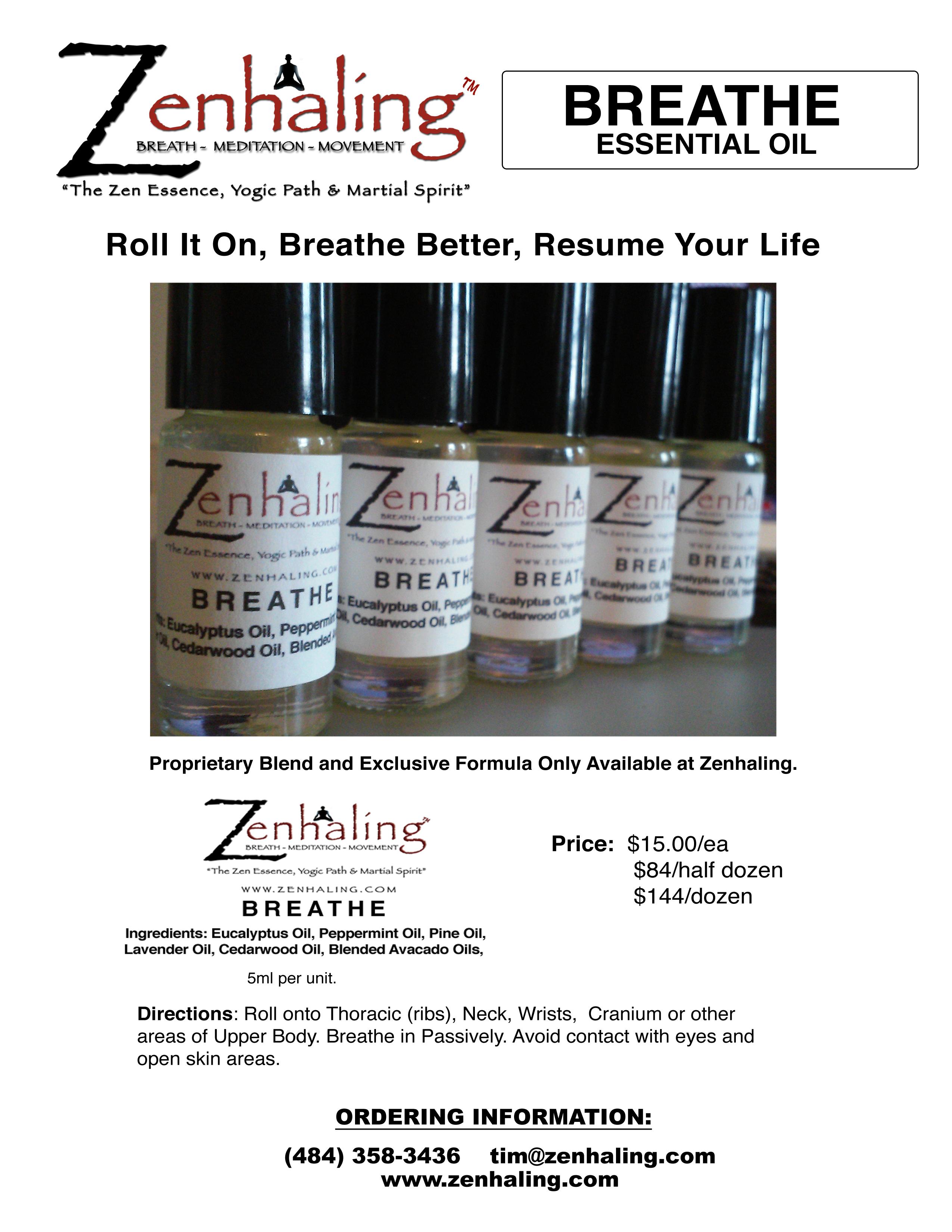 Breathe Oil