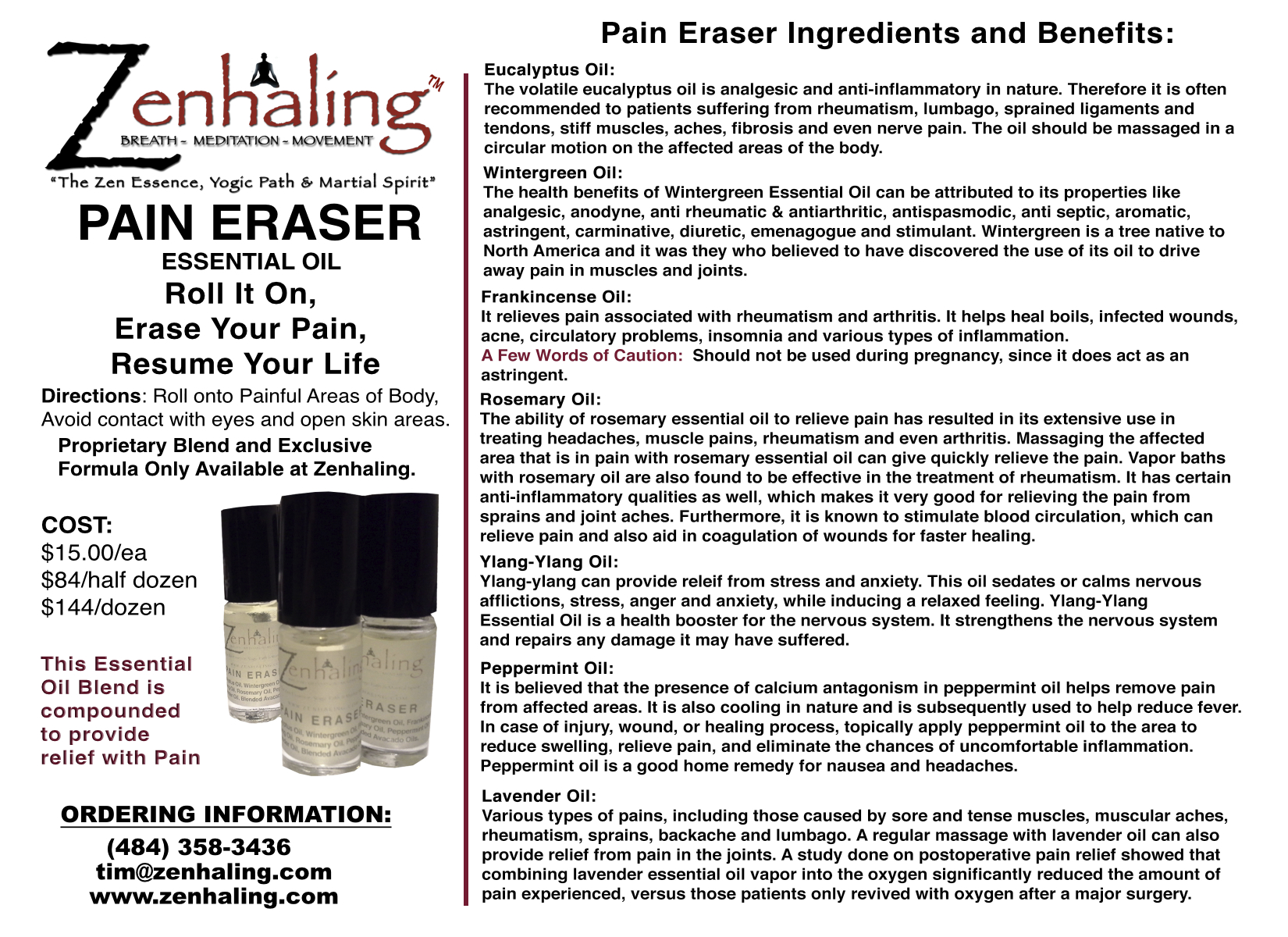 Pain Eraser Oil v2